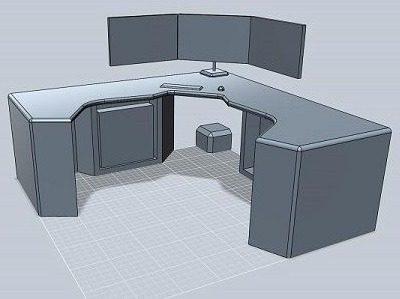 New Desks With Corner Desk Multi Monitor Best Computer Desks For Gaming