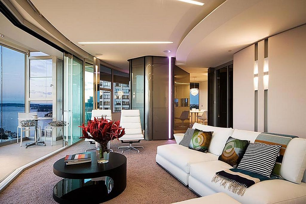 Perfect Ultra Modern Interior Design With How To Decorate Living Room Color