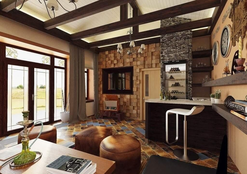 Great Country Homes Interior Designs With Country Style Interior Design  Ideas With Corner Bar Country Living Interior Paint Ideas Italian Country  Interior ...