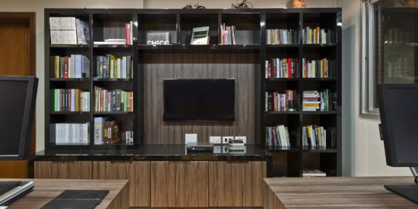 Awesome Built In Home Office Designs With Home Office Built In Shelves For Creative Cabinetry And Furniture Creative Office Furniture Ideas Office Modern Office Designs Small Building Startup Design Outlet Commercial Dental Interior Best An I