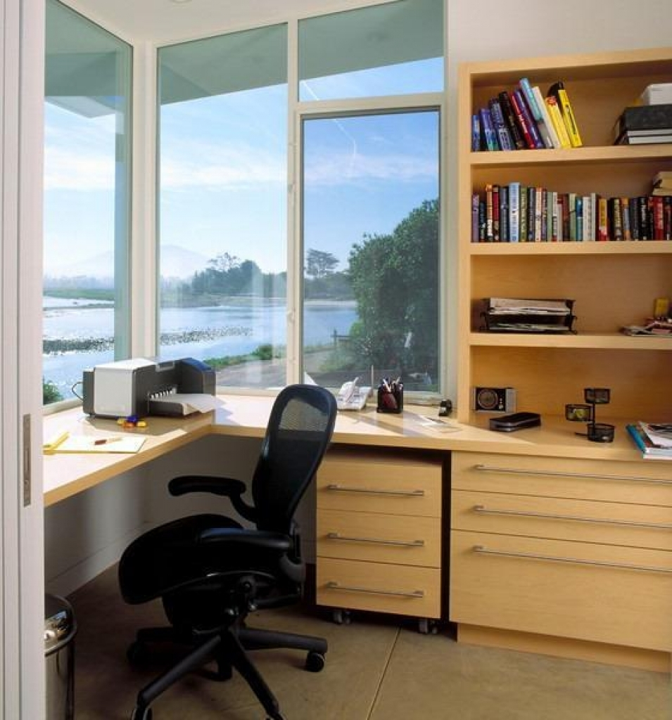 Brilliant Built In Home Office Designs With Built In Home Office Designs Space Saving Built In Office Furniture In Corners Personalizing Best Photos