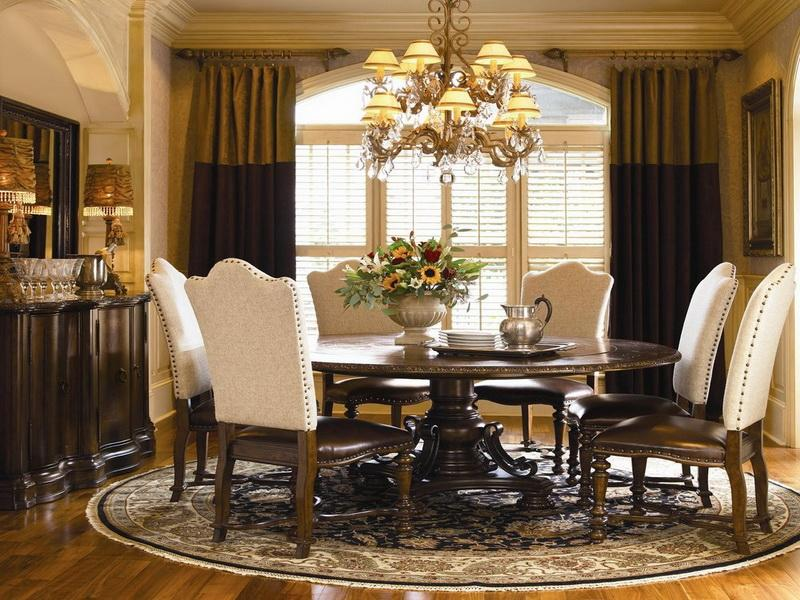 Minimalist Round Dining Room Table For 8 With Dining Room Round Table Dining Room Table On Round Pedestal Dining Table