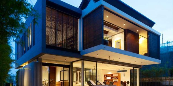 Impressive House Architect With Fine House Architecture Design With House