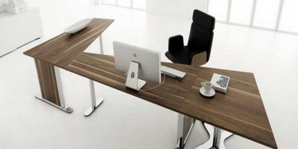 Good Office Desk Furniture With Modern Wood Office Desk