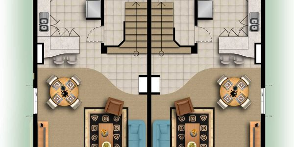 Perfect Floorplan Designer With Home Decor The Good Looking Green Grass Surronding For Floor Plan Illustration The Ground Floor Of This House Design Three Dimension Online Floor Plan Designer