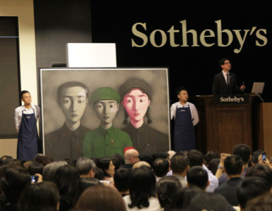 Great Sotheby S Auction With Zhang Xiaogang Sells At Sothebys Via Sothebys