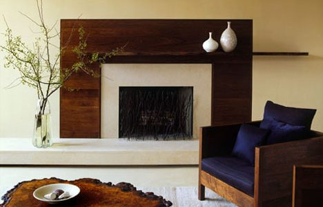 Nice Living Room Interior With Natural Wood Themed Living Room Design