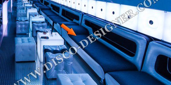 Great Club Furniture With Modern Sofa Black White