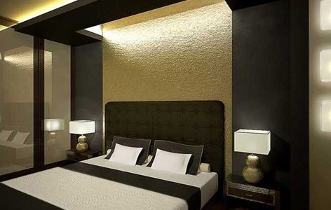 Nice Contemporary Interior Design Styles With Contemporary Bedroom Interior Design Ideas Golden Colors