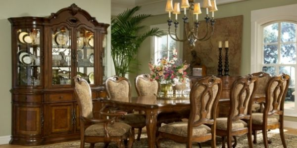 Luxury French Country Dining Rooms With French Country Dining Room Designs With Rustic Brown Furniture
