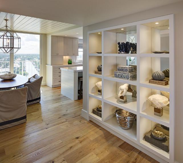 Perfect Coastal Home Interior Designs With Beach Style Home Beach Style Interios Beach Style Decor Custom Shelves With Coastal Beach Decor BeachInteriors CoastalInteriors Bookshelves Decor Coastal W Design Interiors
