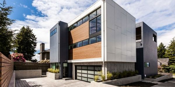 Trend Seattle Modern Homes With Exterior Of The Aurea Residence In Seattle