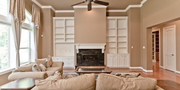 Simple Living Room Themes With Ceiling Treatment Ideas For Living Room With Soft Brown Themes Living Room Themes Modern