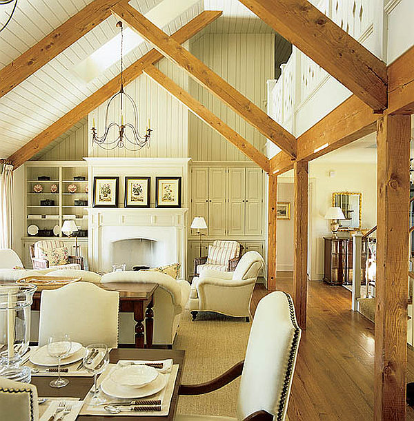 Excellent Cottage Interior Design Ideas With White Cottage Style ...
