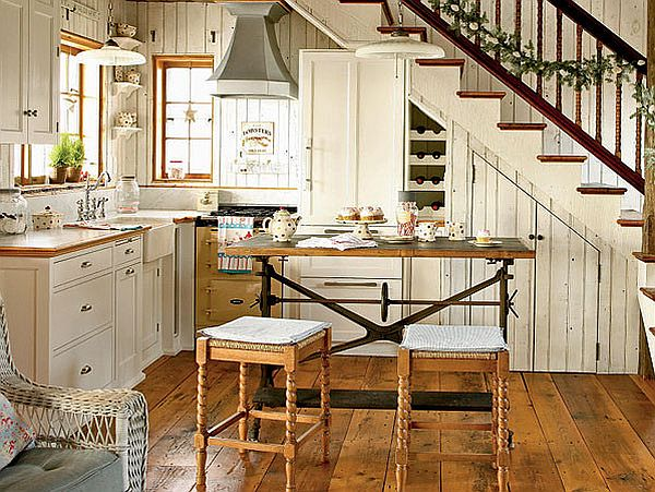 Amazing Cottage Interior Design Ideas With Country Cottage Kitchen ...