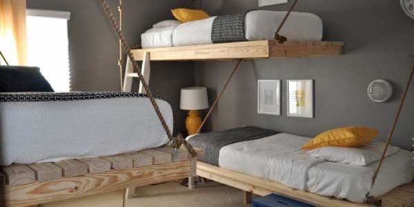 Excellent Creative Ideas For Interior Design With Creative Bunk Beds Idea