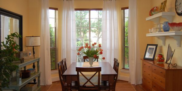 Trend Dining Room Drapes With Decoration Simple Dining Room Decoration With Vintage Furniture And White Custom Curtains And Drapes For High Ceiling And Light Orange Wall Interior Color Decor Curtains And Drapes Patio