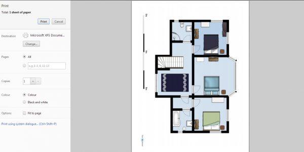 Best Floor Planner With Free Floorplan Software Floorplanner Secondfloor Print