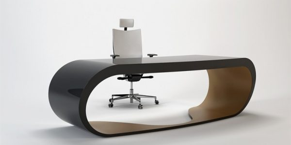 Popular Office Desk For Home With Black And Brown Contemporary And Elegant Office Desk For Your Home