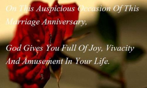 Beautiful Wedding Anniversary Wishes For Wife With Marriage Anniversary Picture Messages