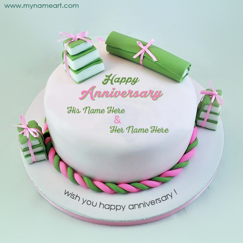 Minimalist Wedding Anniversary Cakes With Wedding Anniversary Wishes Cake