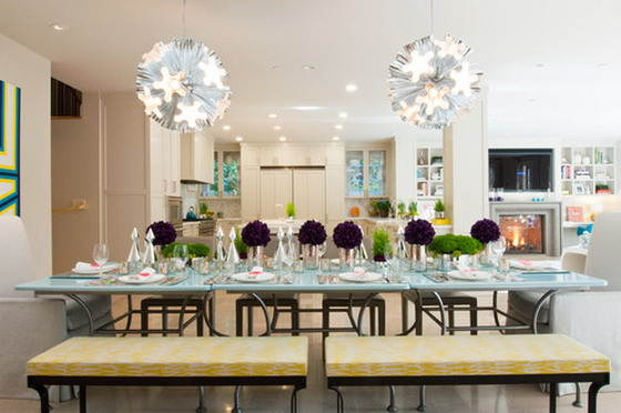 Awesome Dining Table Decorating Ideas With Decorating Ideas For ...