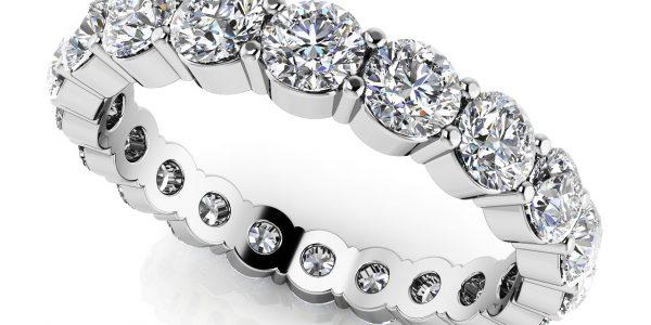 Diamond Anniversary Ring & Eternity Ring