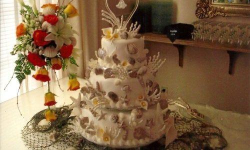 Beautiful Wedding Cake Design in Portland