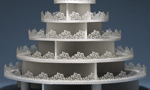 Recyclable Wedding Cupcake Stands