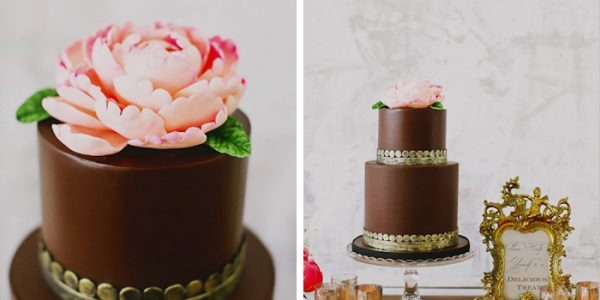 20 Decadent and Delicious Chocolate Wedding Cakes
