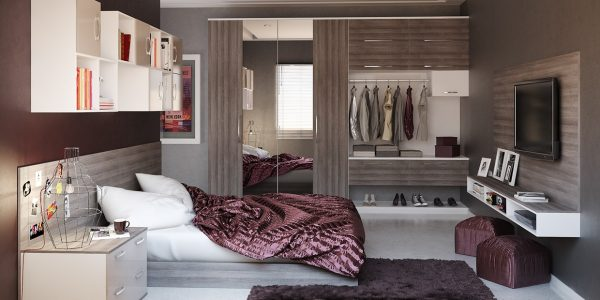Amazing Modern Bedroom Design With Cozy Modern Bedroom Design