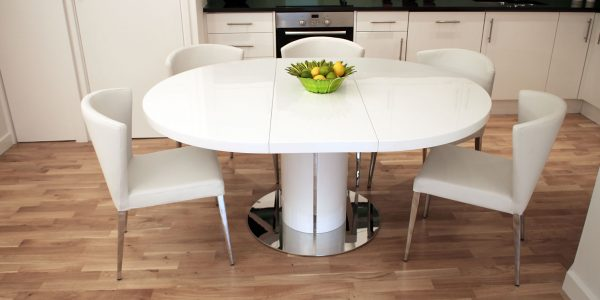 Minimalist White Round Dining Table With Innovative Ideas Extending Dining Table Fresh Extending Dining Room Table Sets