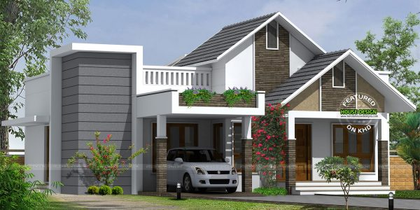 Excellent Home Architecture With Single Floor Cute Home