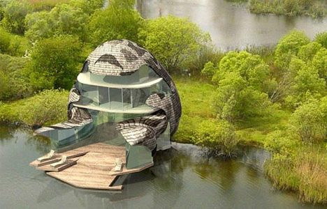 Perfect Design Houses With Expensive Futuristic Green House Design