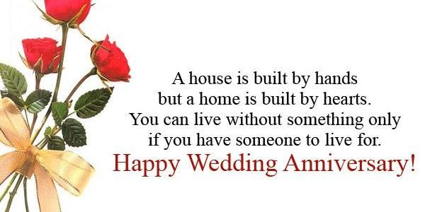Popular Happy Wedding Anniversary With Happy Anniversary Sms Wishes