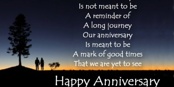 Popular Wedding Anniversary Wishes Quotes With Beautiful Happy Anniversary Card Message To Wife From Husband
