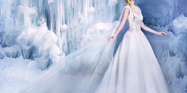 Elsa Disney Inspired Dress