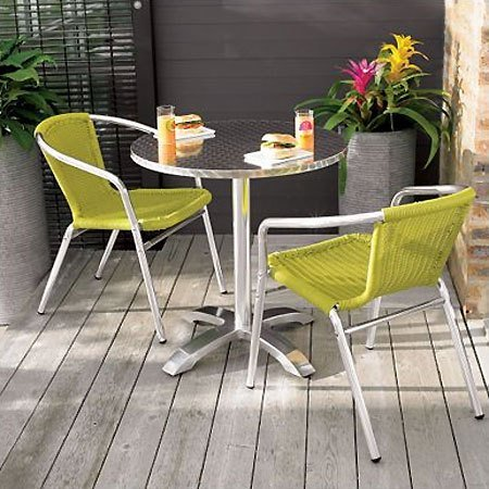 Custom Affordable Modern Outdoor Furniture With Lime Green Affordable Modern Outdoor Furniture Beautiful Pink Yellow Decorative Flowers Round Patio Table Gray Wood Floor