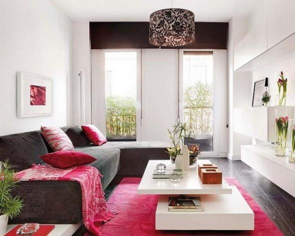 Impressive Small Living Room Decor Ideas With Artful Yellow Small Livingroom