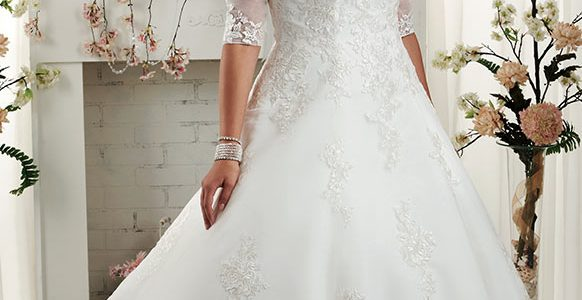 Corset Plus Size Wedding Dress