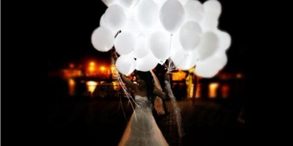 Light Balloons for Your Unique Wedding