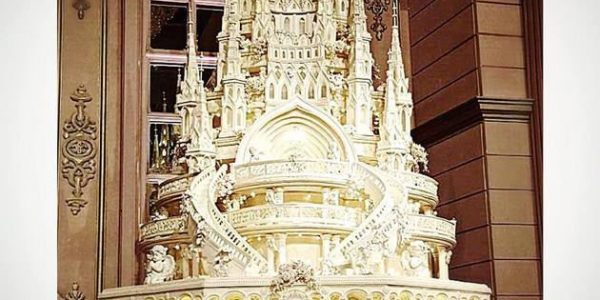 Church Theme on Your Wedding Cake
