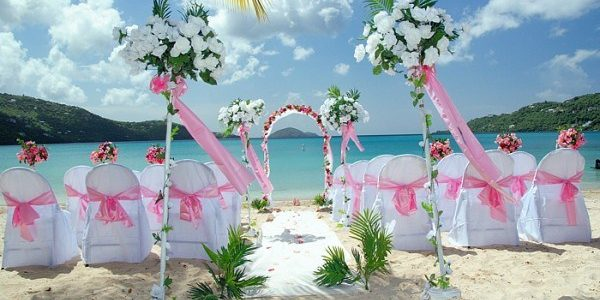 Bermuda Beautiful Beach Wedding