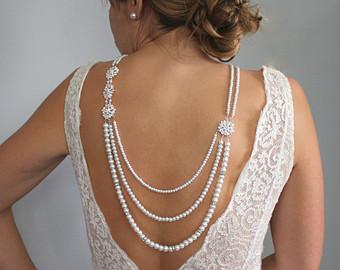 Unique Back Necklaces