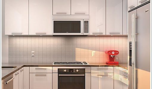 Cool Kitchen Remodel Ideas For Small Kitchens With Color Matching Of The Flooring And Countertops In Small Modern Kitchen