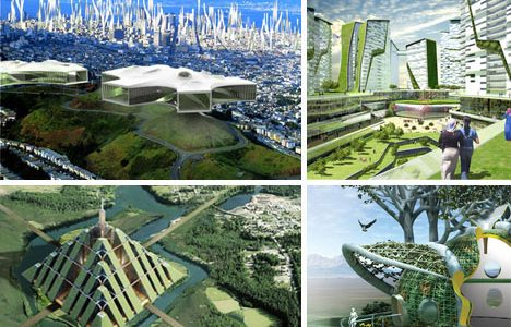 Brilliant Design And Architecture With Futuristic Green Architecture And Design