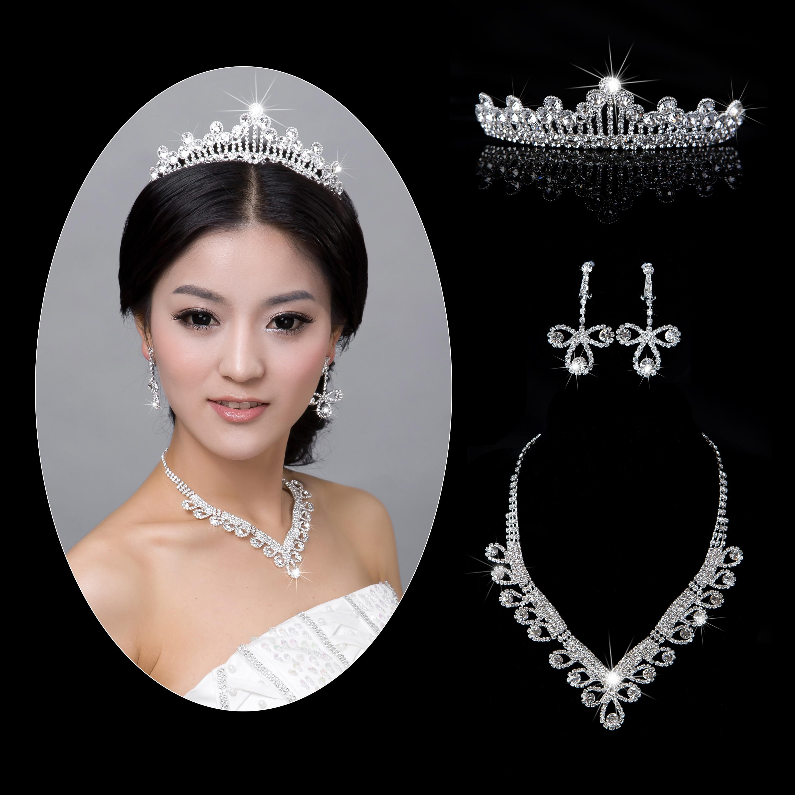 New Arrival Bridal Tiaras Crystal Necklace