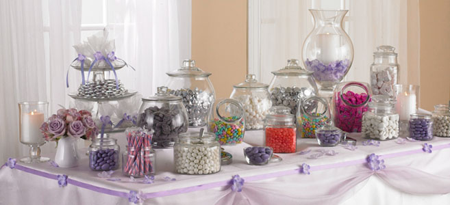 candy table for wedding reception - Wedding Decor Ideas