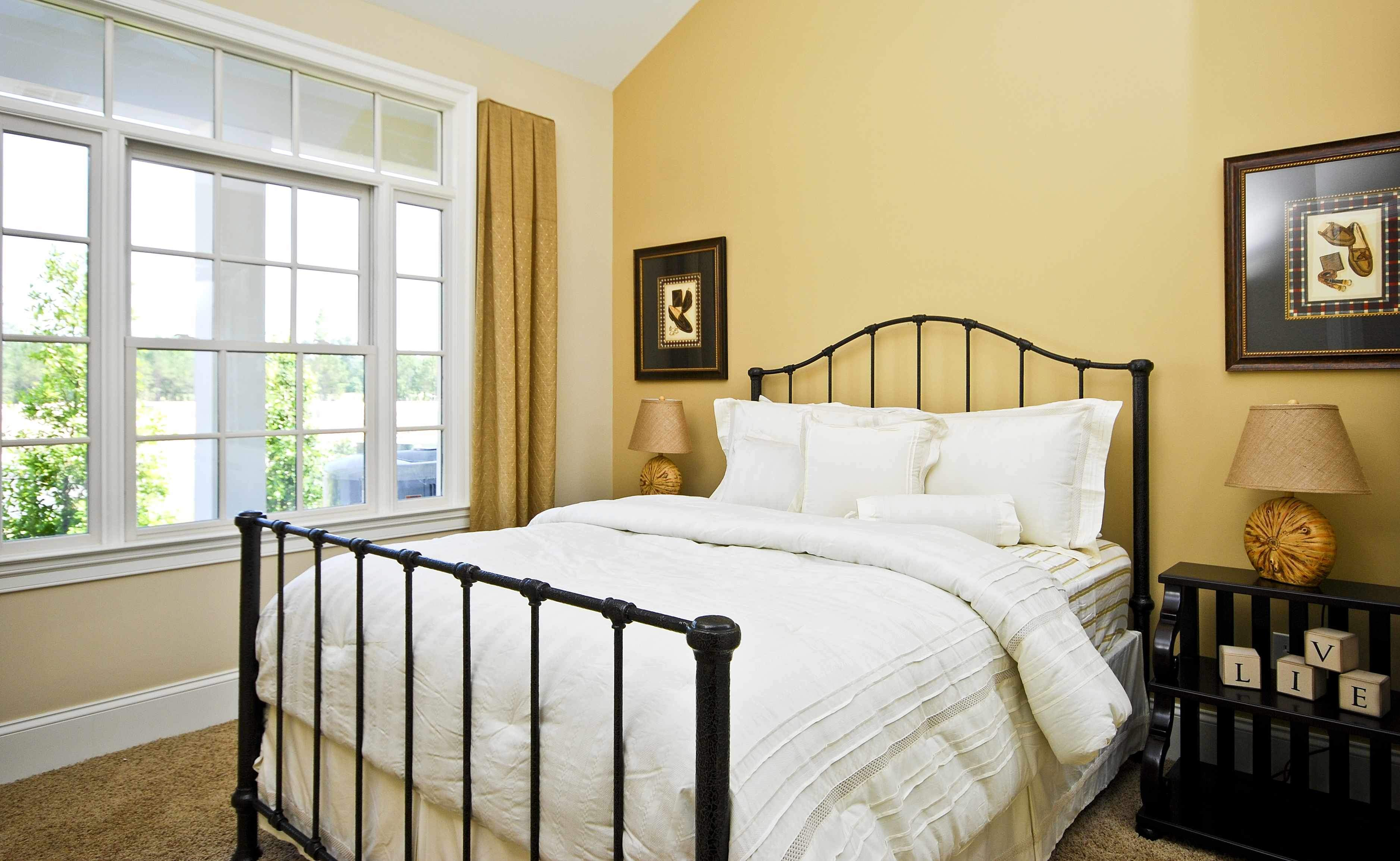 Trend Best Interior House Designs With Magnificent Interior Bedroom Designer Featuring Oak Unfinished Fascinating Warm Color Paint On The Modern Ideas With Black Iron Bed Bedroom Closet Designs New House Design Ide