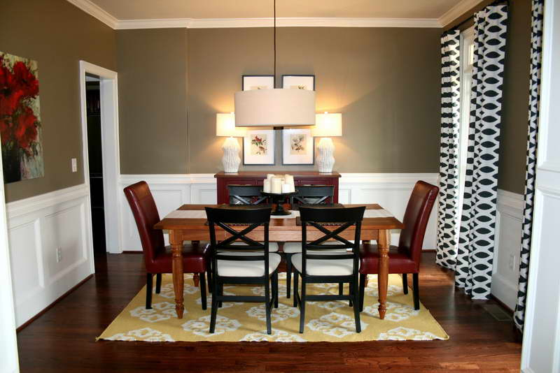 Simple Colors For Dining Room With Color Ideas For Dining Room